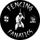 Логотип клуба Fencing Fanatics